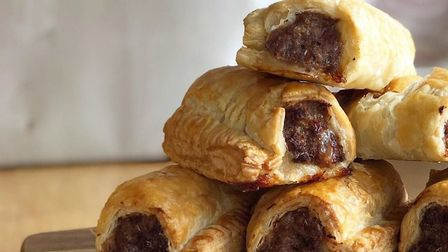 Homemade sausage rolls available from Ben's farm shop Picture: Ben's Restaurant / Facebook