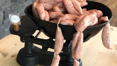Ben's Bangers - made from rare breed, free-range, home reared pork Picture: Ben's Restaurant / Faceb