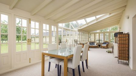 Pipers Hall in Forward Green near Stowmarket is for sale for �995,000. Picture: David Burr