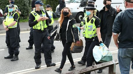 Read your EADT for free today after Extinction Rebellion disrupted newspaper printing overnight Pict