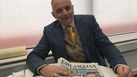 David Patrick, newsagent owner Picture: ARCHANT