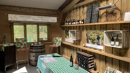 Valley Farm Vineyards, an award-winning Suffolk vineyard near Beccles, is for sale with Durrants Pic