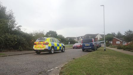 A teenager has been arrested following a shooting in Kesgrave Picture: OLIVER SULLIVAN