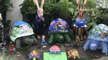 Eye hares up for sale through Clarke and Simpson Picture: THE BLOSSOM CHARITY