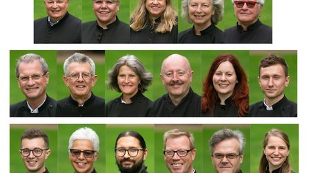 New deacons who will serve communities across Suffolk Picture: KEITH MINDHAM PHOTOGRAPHY