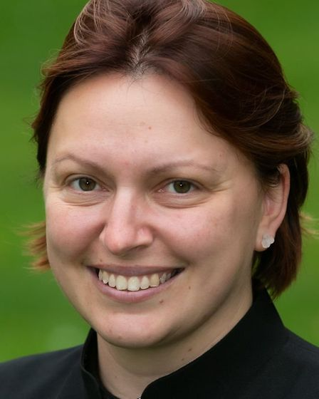 Sarah du Boulay will serve as a priest for Needman Market with Badley Picture: KEITH MINDHAM PHOTOG