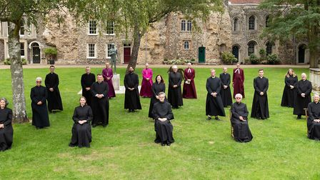 New deacons ordained to serve across Suffolk Picture: KEITH MINDHAM PHOTOGRAPHY