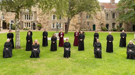 New priests ordained in services at St Edmundsbury Cathedral Picture: KEITH MINDHAM PHOTOGRAPHY
