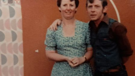 Kenny Scarff and his wife Pauline. The pair ran a shop in Hadleigh for 14 years. Picture: SCARFF FAM