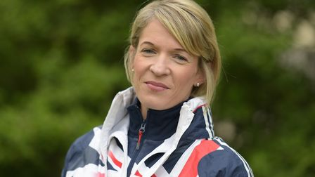 Helen Davies, pictured in Team GB kit. Picture: SARAH LUCY BROWN