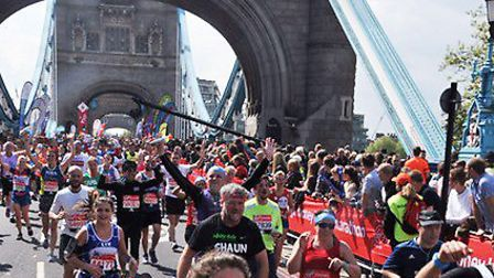 There will be no mass field at the London Marathon, and no runners crossing Tower Bridge, with a sma