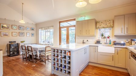 Buttermans in Broke Hall Park is on the market for �1.175m. Picture: Jackson-Stops