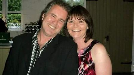 Gillian said two years on she still misses her husband Steve so much. Picture: CORKE FAMILY