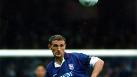 Tony Mowbray, whose unfortunate own goal set Town on their way to a 3-1 defeat at Oxford United, 24