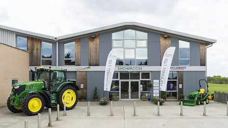 Tuckwell's Ardleigh, Colchester dealership. P Tuckwell has acquired Burden Bros Agri dealership Pic