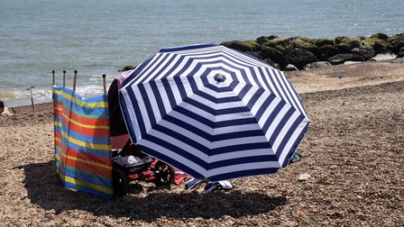 Highs of up to 29C are predicted for Suffolk on Tuesday Picture: CHARLOTTE BOND