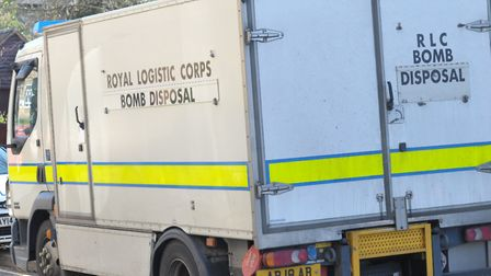 Bomb disposal have been called to Stowmarket this afternoon. Stock image Picture: SARAH LUCY BROWN
