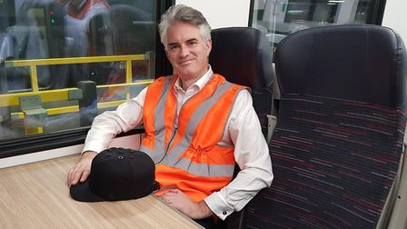 James Cartlidge wants the government to approve new flexible season tickets. Picture: OFFICE OF JAME