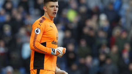 Burnley and England goalkeeper Nick Pope sent a message to George Bugg after he suffered a horror in