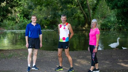 Stuart Service is going to be running his own virtual London marathon around Hadleigh with 26 of his