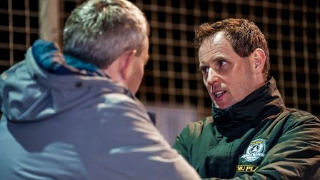 Ipswich Witches promoter Chris Louis Photo: STEVE WALLER