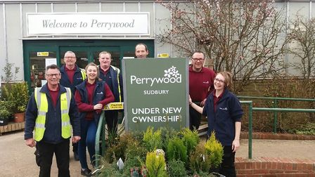The team at Perrywood Garden Centre pictured last year. Picture: PERRYWOOD GARDEN CENTRE