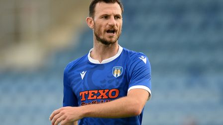 Former Ipswich Town stalwart Tommy Smith is now at Colchester. Picture: RICHARD BLAXHALL