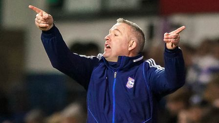Ipswich Town manager Paul Lambert will see his side get their season started against Wigan tomorrow.