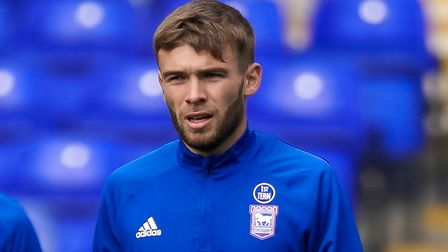 Aaron Drinan had to wait more than two-and-a-half years to make his Ipswich Town debut. Photo: Steve Waller