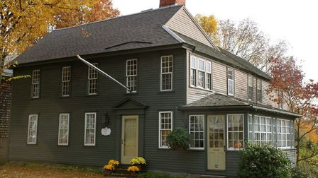 A First Period Ipswich, MA home built in 1659 that still stands to this day Picture: Gordon Harris,
