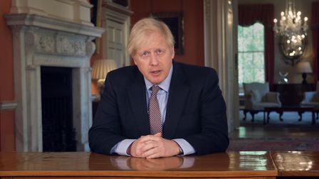 Prime Minister Boris Johnson is set to announce a ban on gatherings of more than six people Picture