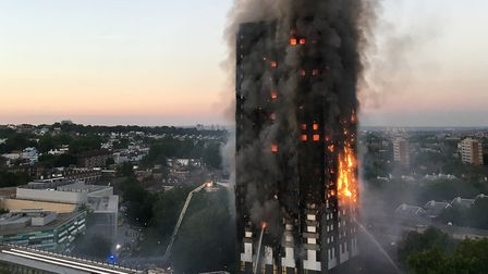 The 2017 fire at Grenfell Tower claimed 72 lives Picture: NATALIE OXFORD/PA IMAGES