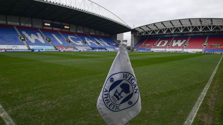 DW Stadium, home of Wigan Athletic - Wigan are due to start their League One season at Ipswich Town