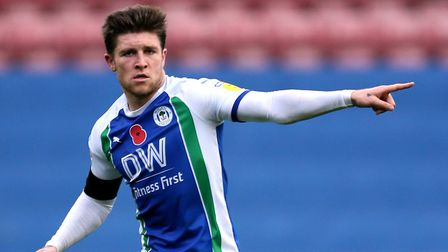 Josh Windass, a former target of Ipswich, has been one of many to leave Wigan this summer. Picture: