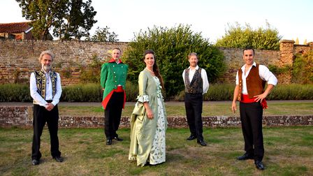 L-R: Nick Fowler, Philip Smith, Lynsey Docherty, Rob Gildon and Anthony Flaum Picture: CHARMIAN BER