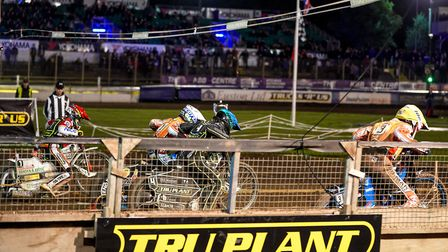 British Final at Ipswich set to be screened live. Photo: STEVE WALLER