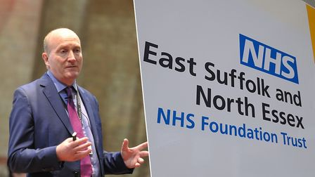Nick Hulme, chief executive of the East Suffolk and North Essex NHS Foundation Trust, which runs Ips