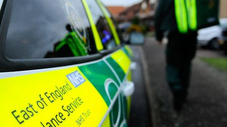 An East of England Ambulance Service frontline worker said she is currently unable to work as she is