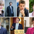 Suffolk's MPs have had their say on the testing problems. From left to right: Suffolk Coastal MP The