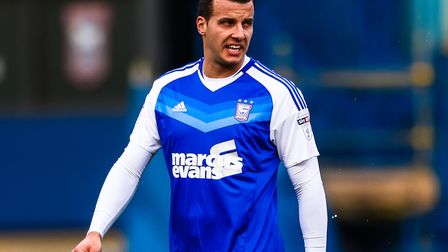 Steven Taylor in action for Ipswich Town in 2017. The veteran defender has signed for Odisha FC in I