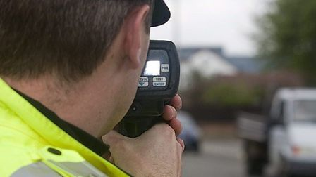 Two men have been disqualified from driving for six months after being caught speeding at more than