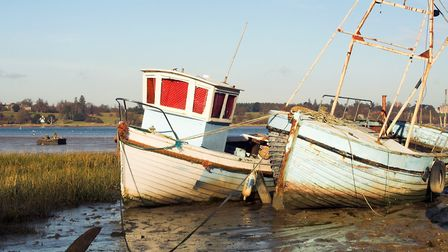 Pin Mill on the Suffolk Coast is one of the most picturesque settlements on the Suffolk coast Pictur