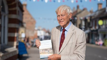 Dr Christopher Hopkins, 92, has written a book about his life entitled 'Recollections of a Southwol
