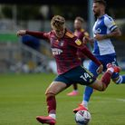 Ipswich's Jack Lankester with an effort on goal at Bristol Rovers. Picture Pagepix Ltd