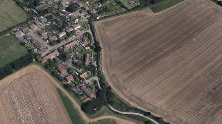 The homes are to be built in land off Levington Lane in Bucklesham, just outside of Ipswich Picture: