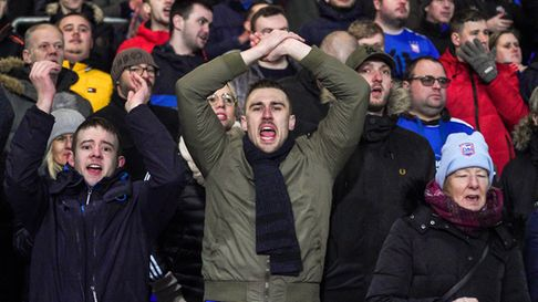 Ipswich Town had hoped to welcome fans back to Portman Road this weekend Picture: STEVE WALLER