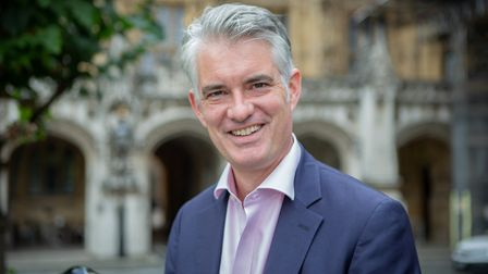 South Suffolk MP James Cartlidge. Picture: OFFICE OF JAMES CARTLIDGE