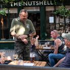 The Nutshell in Bury St Edmunds has now reopened with a new space outside Picture: SARAH LUCY BROWN