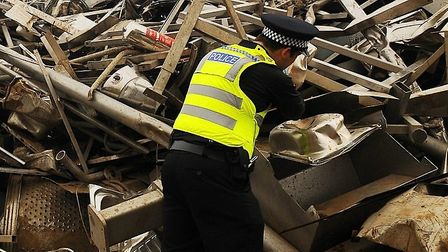 The Scrap Metal Dealers Act 2013 brought in strict licensing requirements Picture: IAN BURT