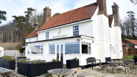 The Ramsholt Arms Picture: CHARLOTTE BOND